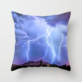 It's Showtime! Throw Pillow