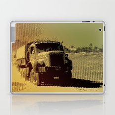 truck in the desert Laptop & iPad Skin