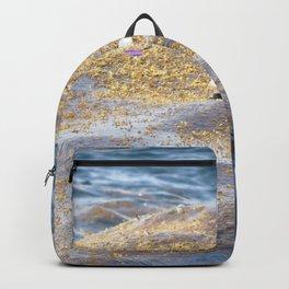 Watercolor Human Impact, Trash 18, Plastic Backpack