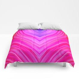 stripes wave pattern 3 sm60i Comforters