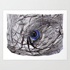 Eye on the Ball Art Print