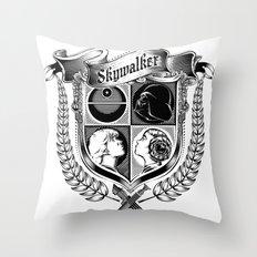 Family Coat of Arms Throw Pillow