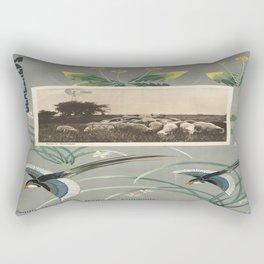 Vintage poster - Manchukuo Rectangular Pillow