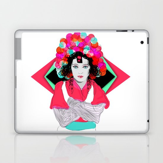 Anna May Laptop & iPad Skin