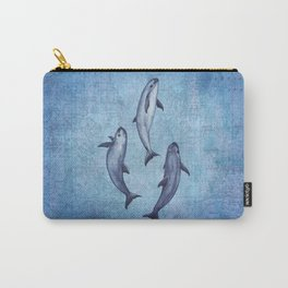 Three Little Vaquitas ~ Watercolor Art ~ (Copyright 2015) Carry-All Pouch