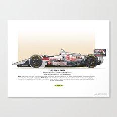 #6 LOLA - 1993 - T9300 - Andretti Canvas Print
