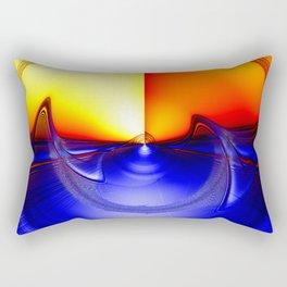 sub sonic waves Rectangular Pillow