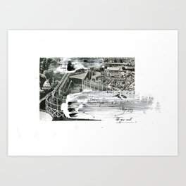 'Decline' (2) Art Print