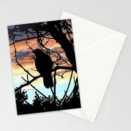 SUNSET BIRD Stationery Cards