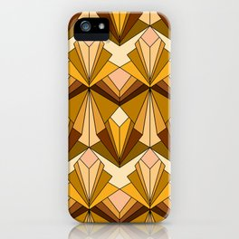 Art Deco meets the 70s iPhone Case