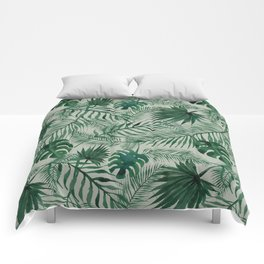 Jungle Leaves pattern Comforters