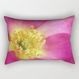 The Last Rose of Summer Rectangular Pillow