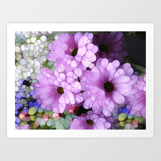 Daisies from the Galaxy Art Print