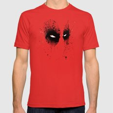 DeadMouth Red LARGE Mens Fitted Tee