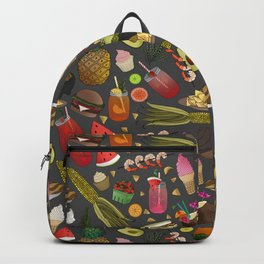 Summer BBQ Cookout Backpack