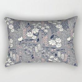 Flower garden 003 Rectangular Pillow