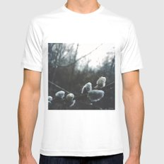 moments of spring Mens Fitted Tee MEDIUM White