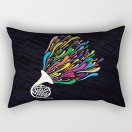 French Horn Rectangular Pillow