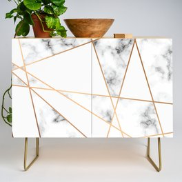 Marble Geometry 054 Credenza