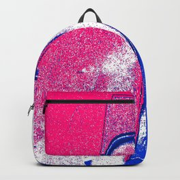 Red White Blue Seven Bold Backpack