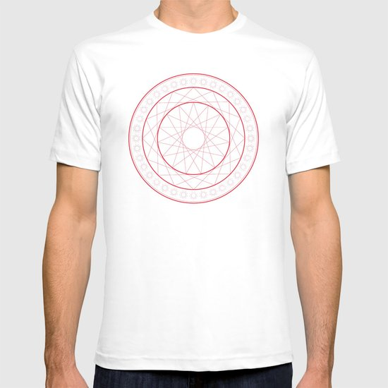 Anime Magic Circle 5 T-shirt