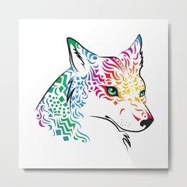 spiritwolf Metal Print