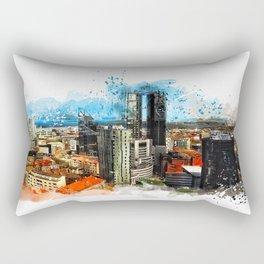 Tallinn city panorame, Estonia Rectangular Pillow