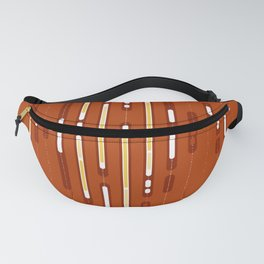 Sunset Dream – Orange / Yellow / Red Abstract Fanny Pack
