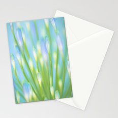 Blue & Green Stationery Cards