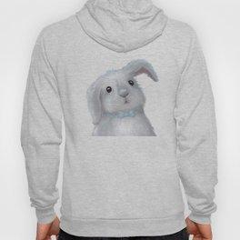 White Rabbit Boy isolated Hoody