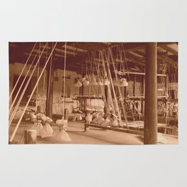 Weaving Mill Rug