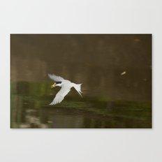 Gone fishing. Canvas Print