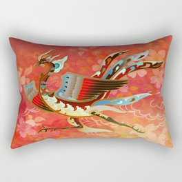 The Empress (Flight of Phoenix) Red Version Rectangular Pillow