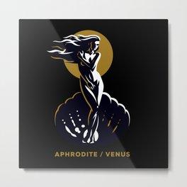 Aphrodite / Venus Metal Print