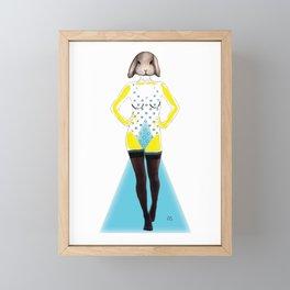 Baby K Framed Mini Art Print