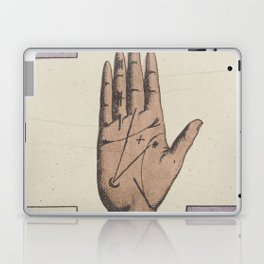 Vintage French Moon Tarot Card Laptop & iPad Skin