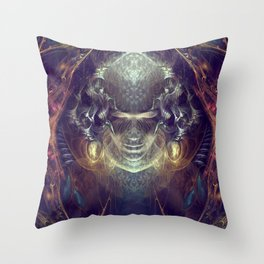 Subconscious New Growth Throw Pillow