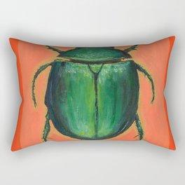 The Scarab Rectangular Pillow