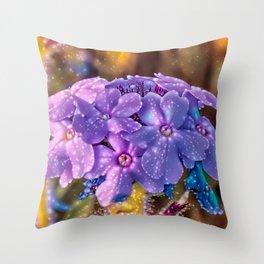 Wildflower Fantasy Throw Pillow