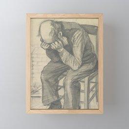 Worn Out Framed Mini Art Print