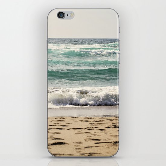 Walking In The Sand iPhone & iPod Skin