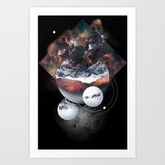 Crystal Nebula Art Print