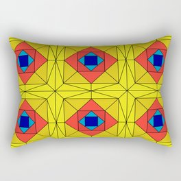 Suspiria Stained Glass Rectangular Pillow