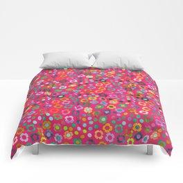 dp065-6 floral pattern Comforters