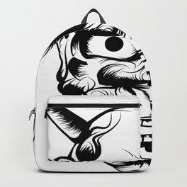 Hannya Art Mask Backpack