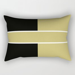 Team Color 6...black,gold Rectangular Pillow