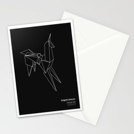 Origami Unicorn Stationery Cards