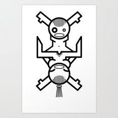 Human Connection Art Print