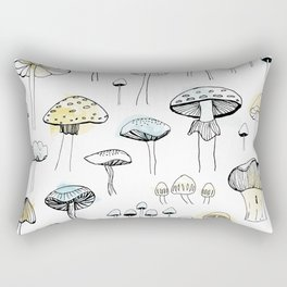 Mushroom harvest Rectangular Pillow