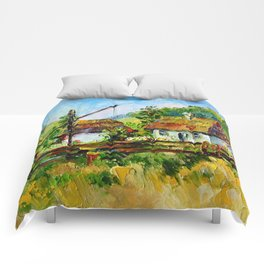 House in the village # 3 Comforters